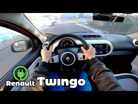 New Renault Twingo Electric 2021 Test Drive Review POV