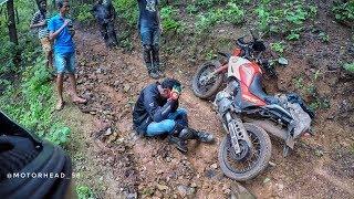 Enduro Trail To Chorla Part 1With Hero Impulse 223 | Bajaj Dominar400 | Yamaha RX 135