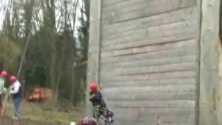 preview picture of video 'Dummer Noob im hochseilpark  alde gott'