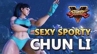 Sexy Sporty Chun Li (C2) - Street Fighter V Mod