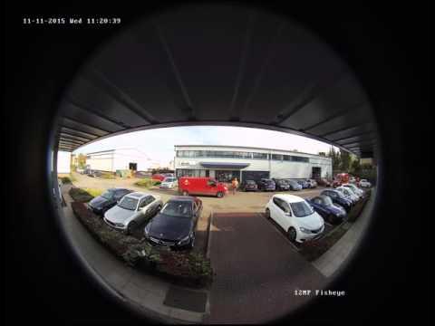 Netview CCTV Ltd 12MP DS-2CD63C2F-IVS Hikvision Fisheye 360° IP