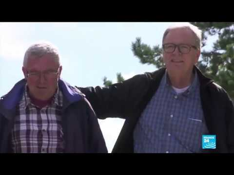 The incredible story of two brothers reunited after a DNA test... at age 72 and 64!