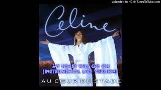 Celine Dion - My Heart Will Go On (Instrumental Live - Au Coeur Du Stade 1999)