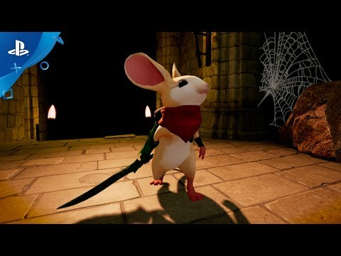 Moss - PlayStation VR Gameplay Announcement Trailer | E3 2017 thumbnail
