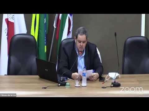 Reunião Ordinária (10/08/2020) - Câmara Municipal de Arcos