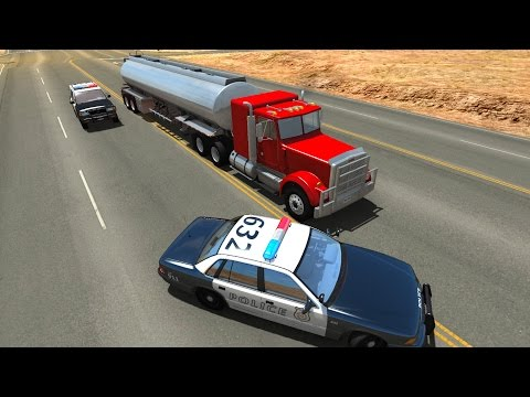 Extreme Police Chases Crashes&Fails #7 - BeamNG DRIVE