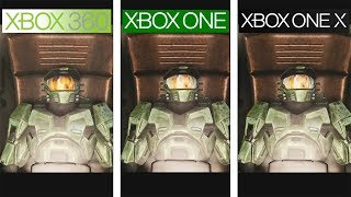 Halo Anniversary | 360 vs ONE vs ONE X | 4K Graphics Comparison | Comparativa