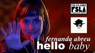 FERNANDA ABREU - HELLO BABY (VIDEOCLIPE OFICIAL)
