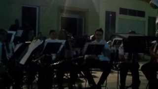 preview picture of video 'Medley Deep Purple. Banda Municipal de Macael. 12-07-13'