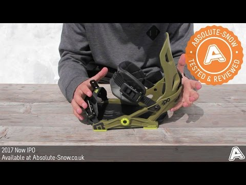 2016 / 2017 | Now IPO Snowboard Bindings | Video Review