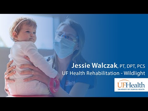 Play it: Physical therapist at UF Health Rehabilitation – Wildlight helps kids move around