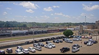 Texarkana,  Arkansas USA | Virtual Railfan LIVE