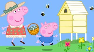 Peppa Wutz 🐰 Frühling 🐝 Peppa Pig Deutsch Neue Folgen | Cartoons für Kinder