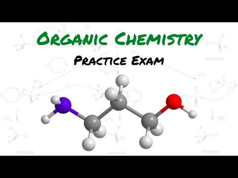 Organic Chemistry Practice Exam 2 - YouTube