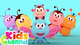 The Little Spider | Kids Songs & Videos | Cartoons for Babies by Kids Channel
