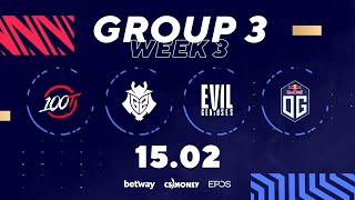 G2 Esports v OG Esports | BLAST Premier Spring Series Semi-Final #1 & Elimination