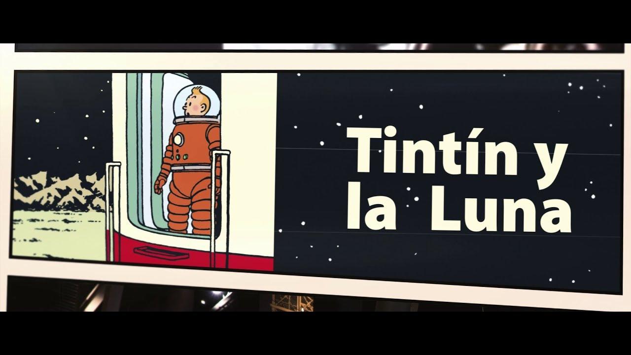 Tintín y la Luna