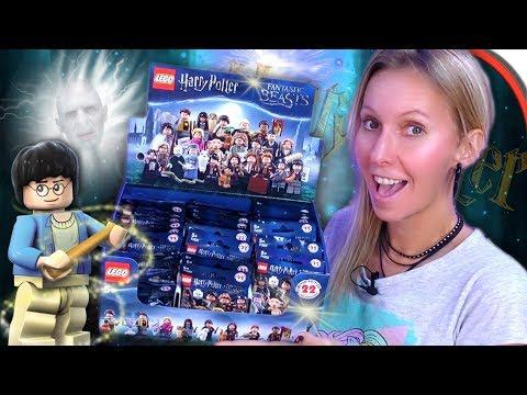 LEGO HARRY POTTER Minifigures 💫 Display Unboxing 🎩 Lego FIGUREN auspacken 💕 Teil 1 deutsch
