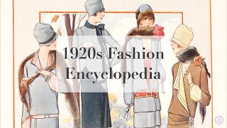 1920s Fashion Encyclopedia, Pt 1: Daywear
