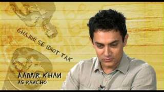 3 Idiots - Exclusive styling of Aamir Khan - Ghajini Se Idiot Tak