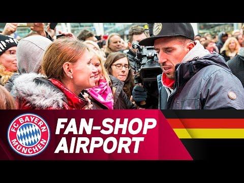 FC Bayern Fan-Shop am Airport eröffnet!