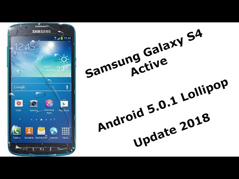 Samsung Galaxy S4 Active Update 2018 [Deutsch]