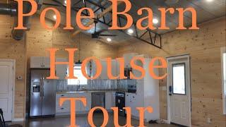 Pole Barn Empty House Tour | New Construction 2019