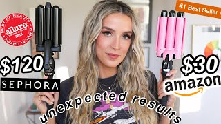 THE BEST HAIR WAVER: AMAZON VS SEPHORA ...whoa?? | Leighannsays