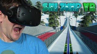 SYMULATOR SKOKÓW NARCIARSKICH - SKI JUMP VR (HTC VIVE VR)