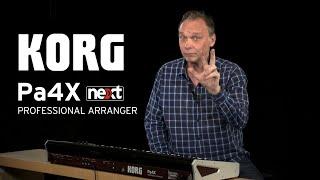 Korg Pa4X 61 - Video
