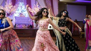 AMAZING SISTERS & FAMILY  BOLLYWOOD DANCE    INDIAN WEDDING RECEPTION SANGEET| ShivShwetKiShaadi