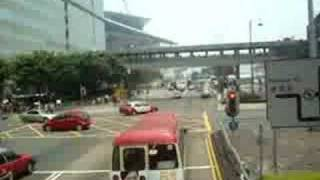 preview picture of video 'Going to  Wan Chai Bus Terminous'