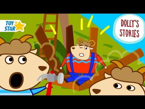 Dolly's Stories | Helping Father | Funny New Cartoon for Kids | Episode #56
