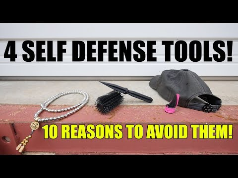 4 Popular Self Defense Tools and 10 Reasons to Avoid Them!
