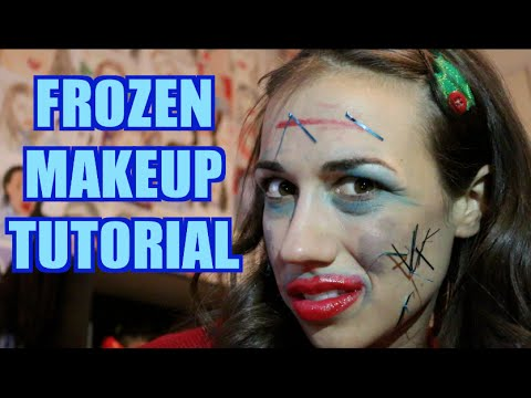 FROZEN MAKEUP TUTORIAL!