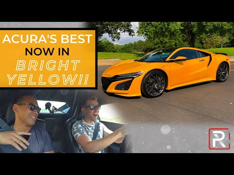 The 2020 Acura NSX is a Perplexing Everyday Hybrid Supercar
