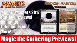 MTG Modern Masters 2017: Damnation, Fetchlands, and More!