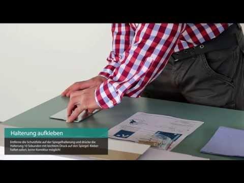 Badspiegel von Concept2u montieren Videoanleitung