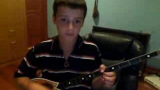 How to play cifteli-Shqiperi o nene ime in ALBANIAN. Qish mi ra shqiperi o nene ime SHQIP. Cifteli.
