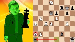 World Champion Magnus Carlsen playing bullet chess | Lichess.org Titled Arena 5