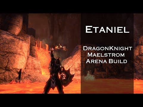 Magicka Dragonknight Maelstrom Arena build — Elder Scrolls Online