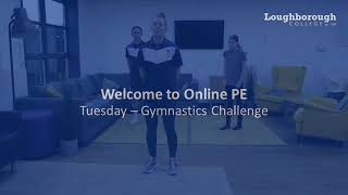 video: Join in with online PE lessons: gymnastics
