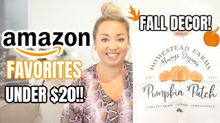 AMAZON MUST HAVES 2020 | FALL, HOME DECOR, & ACCESSORIES UNDER $20 | JESSICA ODONOHUE