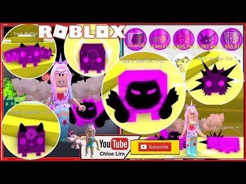 Roblox Gameplay - Pet Simulator! Making 5 Dark Matter Pets