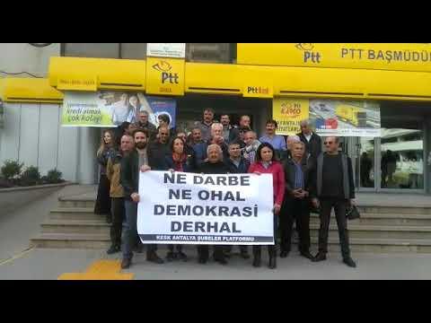 KESK üyeleri OHAL Komisyonunu protesto etti
