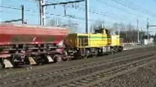 preview picture of video 'Train de travaux ETF'
