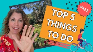My Top 5 FREE Things to do in St Augustine Florida