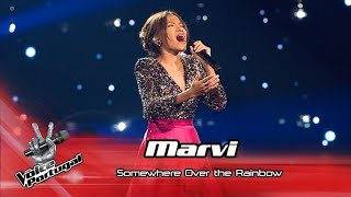 "Marvi - ""Somewhere over the rainbow"" 