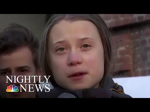 Michelle Obama Tells Greta Thunberg To 'Ignore The Doubters' After Trump Insult | NBC Nightly News