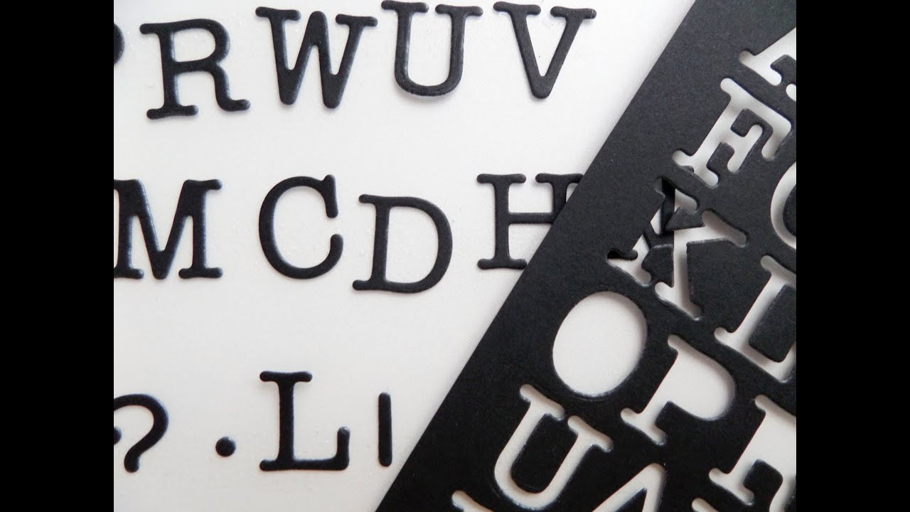 Almacenar alfabetos. Scrap tip